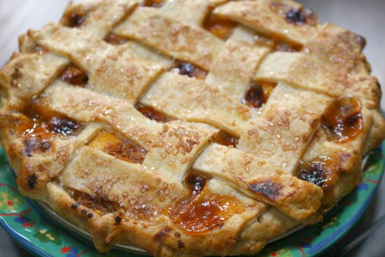 The Best Ever Peach Pie - One Hundred Dollars a Month