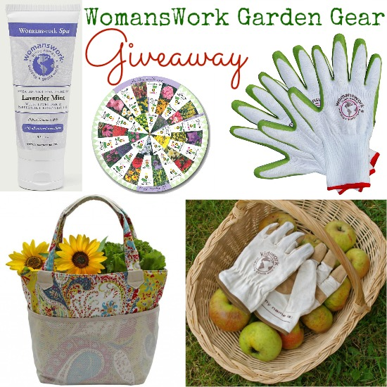 WomansWork Garden Gear Giveaway