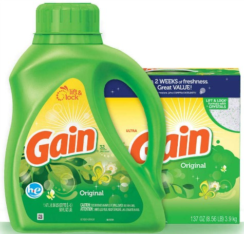 gain laundry detergent coupon