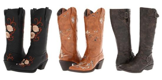 roper tall boots