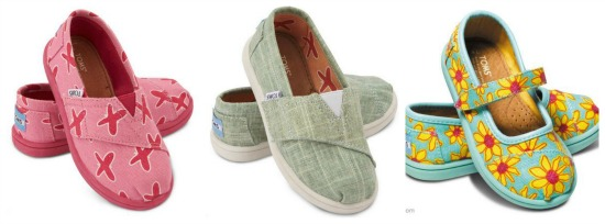 toms shoes for little kids