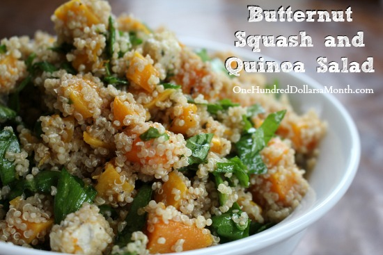Butternut Squash and Quinoa Salad