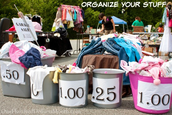 How to Sell More Stuff at Your Garage Sale