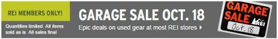 rei garage sale