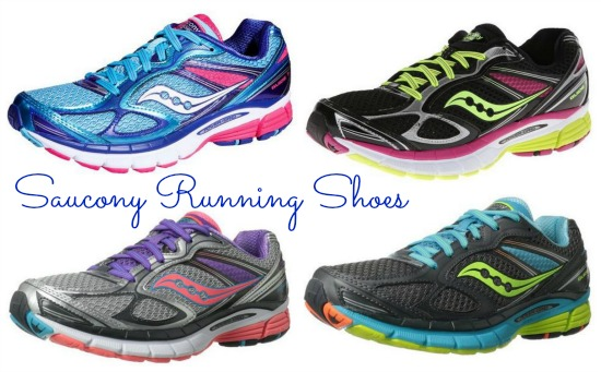 saucony blue running shoes