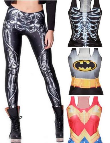 skeleton tights