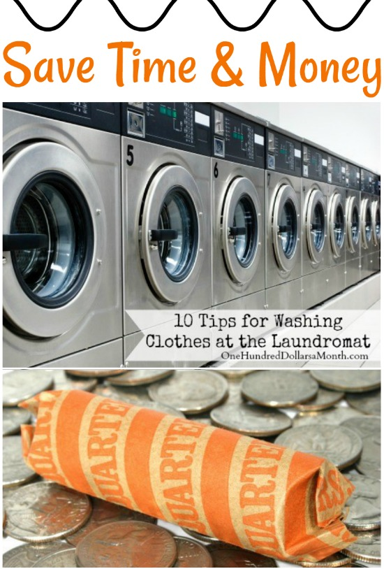 10 tips for washing clothes at the laundromat one hundred dollars living without a washer and dryer sucks big time let me tell you first it stinks to have to sit with your laundry i have distracted myself with a solutioingenieria