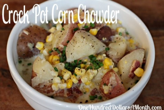 Easy-Crock-Pot-Meals-Corn-Chowder-