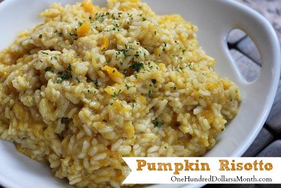 Pumpkin-Risotto
