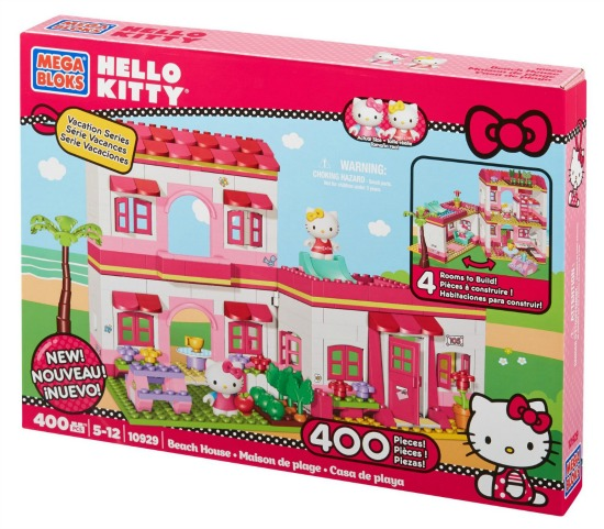hello kitty mega bloks beach house