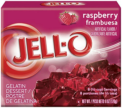raspberry jello