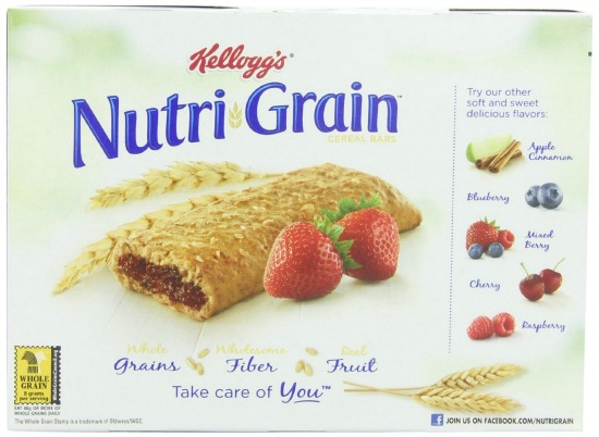 strawberry nurti grain bars