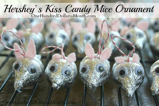 Hershey's-Kiss-Candy-Mice-Ornament