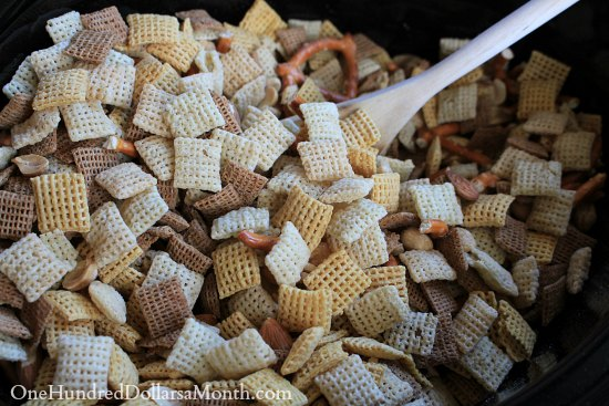 Slow Cooker Chex Party Mix Recipe