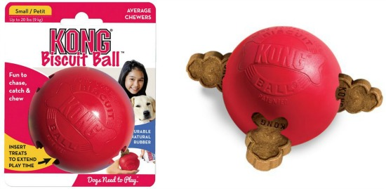 kong biscuit ball red