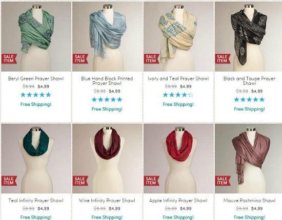 world market prayer shawls