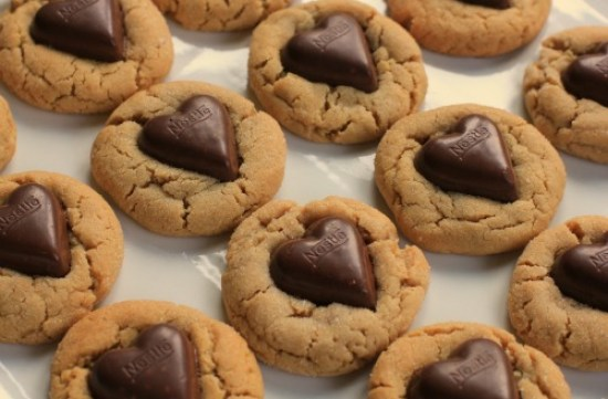 Chocolate-Heart-Peanut-Butter-Cookies