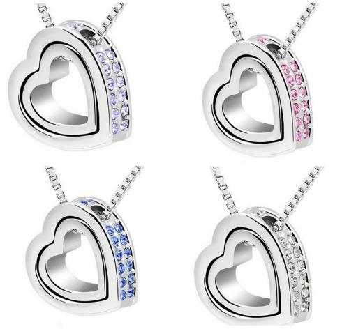 Valentine heart necklace