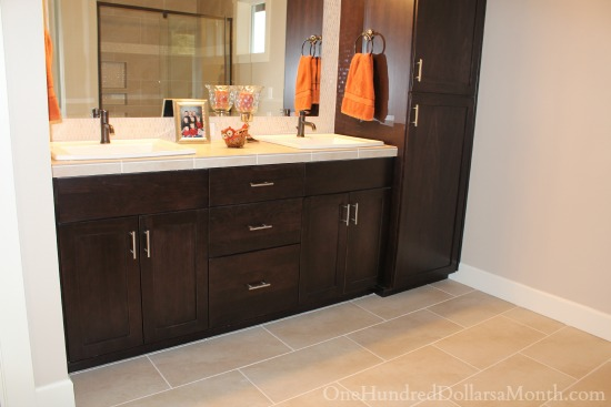 Master Bathroom Remodel Ideas | What Do You Think? - One ... on Bathroom Ideas With Maple Cabinets  id=55032