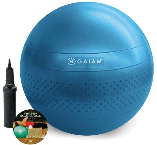gaiam balance ball