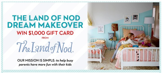 the land of nod sweepstakes