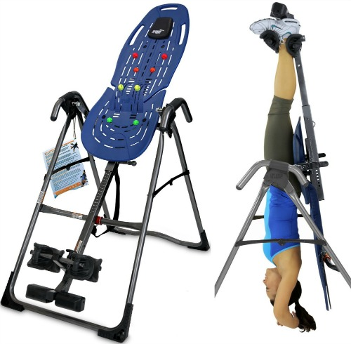 Inversion Table with Back Pain Relief