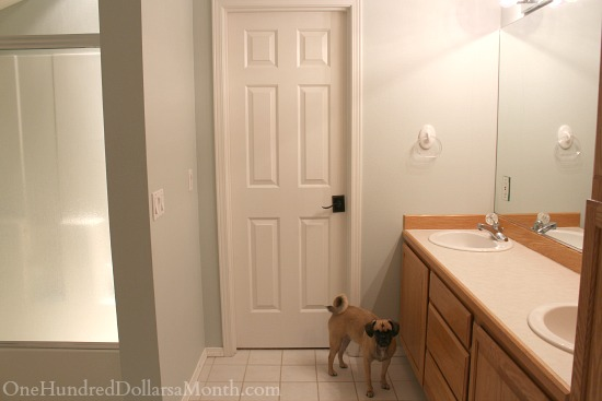 Jack And Jill Bathroom Remodel Part One Hundred Dollars A Month - 80s bathroom remodel