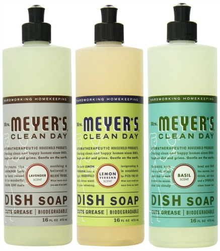 mrs meyers dish soap