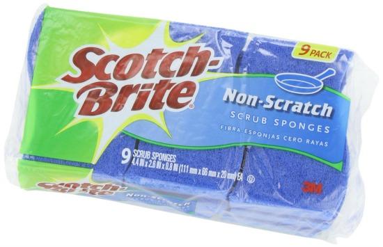 scotch brite sponges