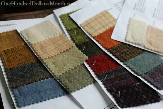 the wool studio Rebecca erb swatches