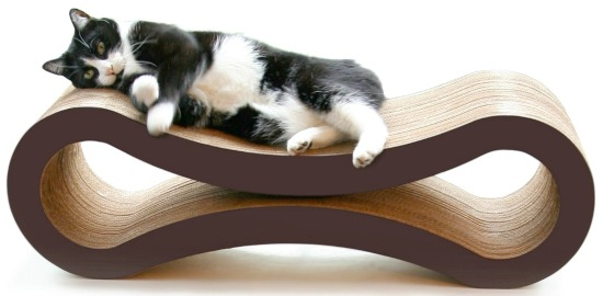 PetFusion Ultimate Cat Scratcher Lounge