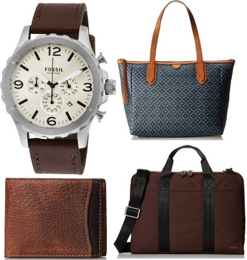 fossil bags and watches