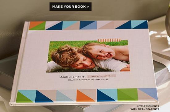 free shuttefly book