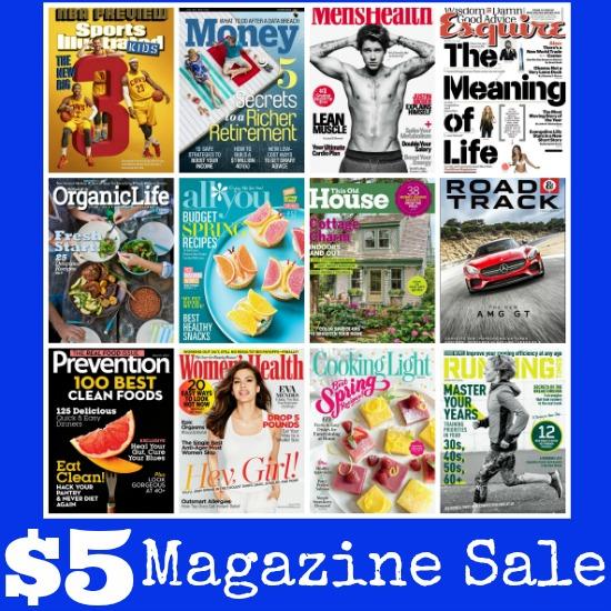 Free Kindle Books, $5 Magazine Sale, Planter's Peanuts, Tiny