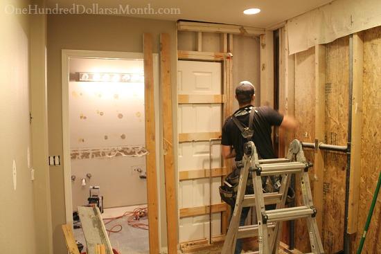 Master Bathroom Remodel Cameron The Carpenter Gets