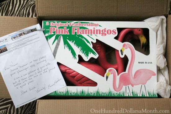 original pink flamingos
