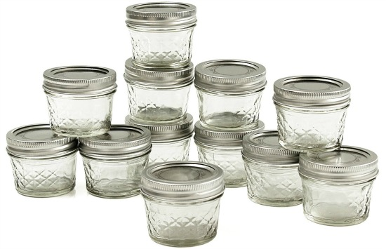 quilted ball canning jars
