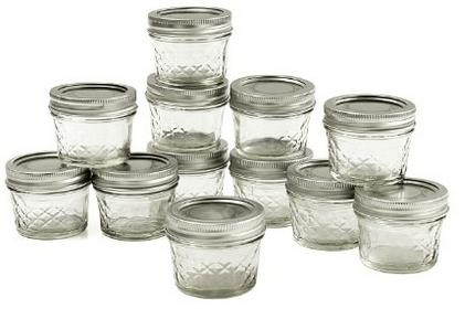 small cannning jars