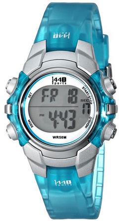 timex watch blue
