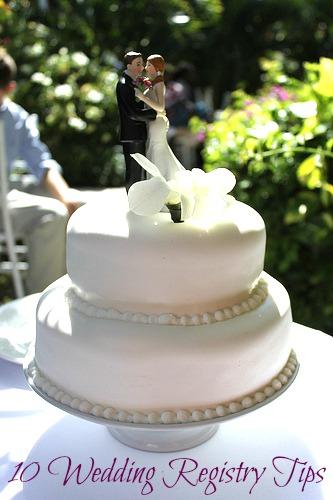 10 Wedding Registry Tips