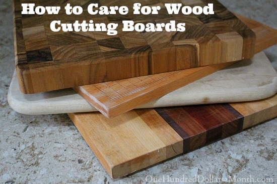 How to Care for Wood Cutting Boards