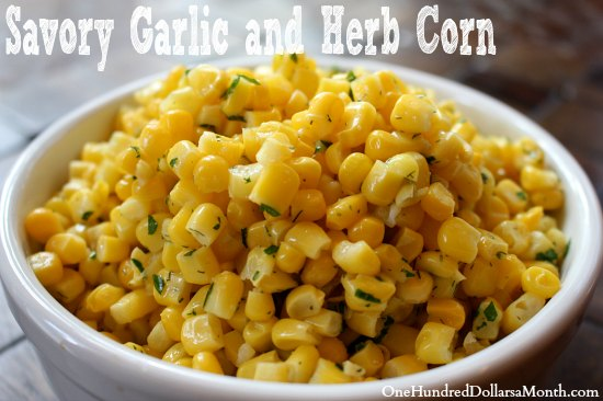 Savory-Garlic-and-Herb-Corn
