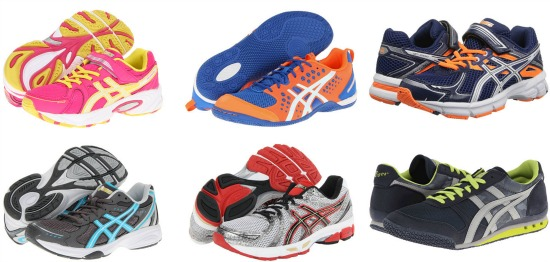 asics running shoe deals