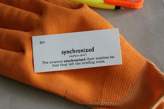 synchronized