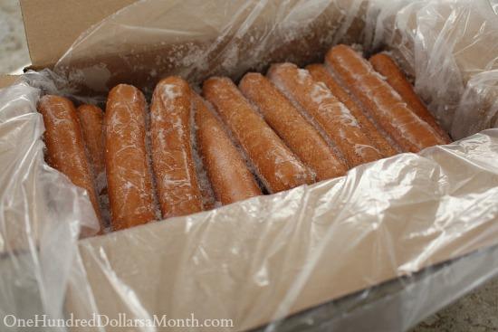 zaycon hot dogs