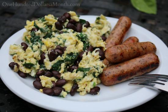 simple breakfast eggs