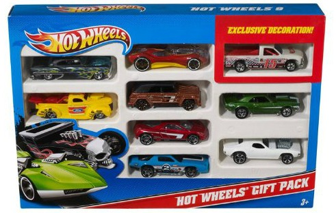 Hot Wheels 9-Car Gift Pack