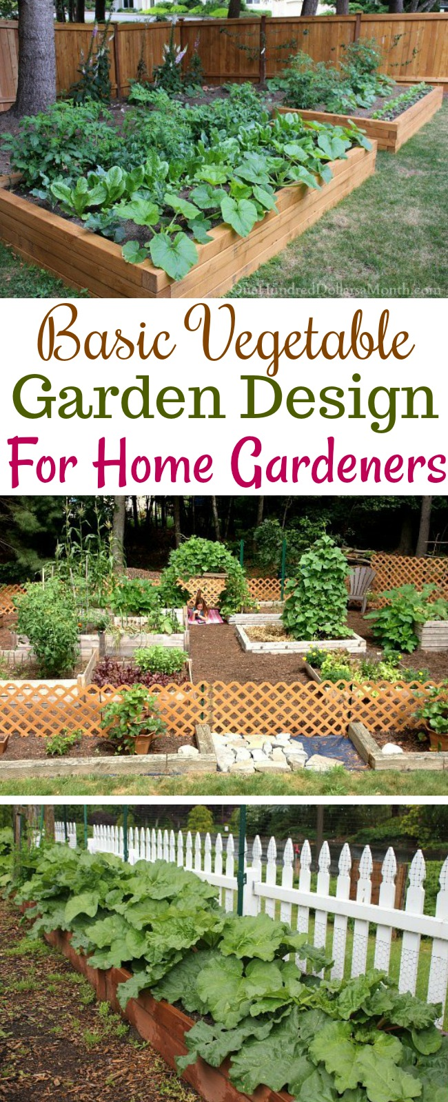 Tips on basic garden design one hundred dollars a month - Garden design basics ...
