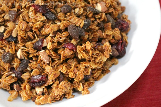 simple granola recipe with oil