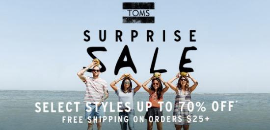 toms sale